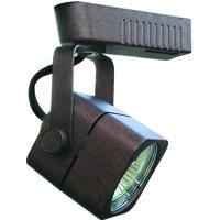 Cal Lighting HT-263-RU Signature 1 Light 12V Rust Track Fixture Ceiling Light Adjustable