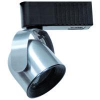 Cal Lighting HT-269-BS Signature 1 Light Brushed Steel Track Fixture Ceiling Light Adjustable