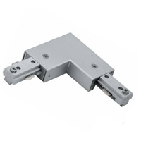 Cal Lighting HT-275-BS Cal Track Brushed Steel L Connector Ceiling Light