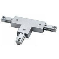 Cal Lighting HT-282-BS Cal Track Brushed Steel T Connector