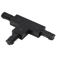 Cal Lighting HT-282-LEFT-BK Cal Track Black T Connector