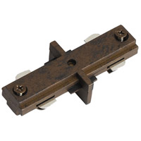 Cal Lighting HT-286-RU Cal Track Rust Straight Connector