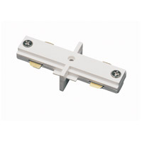 Cal Lighting HT-286-WH Cal Track White Straight Connector
