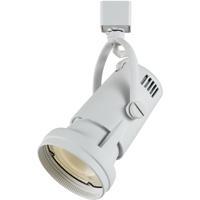 Cal Lighting HT-680-WH Signature 1 Light White Track Head Ceiling Light