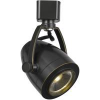 Cal Lighting HT-701-DB Ht System 1 Light Dark Bronze Track Head Ceiling Light in Copper