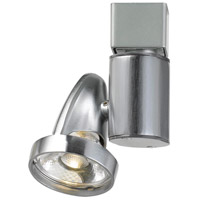 Cal Lighting HT-808-BS Ht System 1 Light Brushed Steel Track Head Ceiling Light
