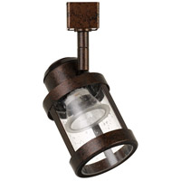 Cal Lighting HT-819-RU Signature 1 Light Rust Track Head Ceiling Light