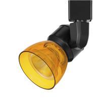 Cal Lighting HT-888BK-AMBCLR Signature 1 Light Black Track Head Ceiling Light