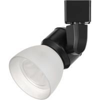 Cal Lighting HT-888BK-WHTFRO Signature 1 Light Black Track Head Ceiling Light