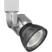 Cal Lighting HT-888BS-MESHDB Signature 1 Light Brushed Steel Track Head Ceiling Light