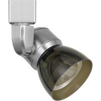 Cal Lighting HT-888BS-SMOCLR Signature 1 Light Brushed Steel Track Head Ceiling Light