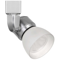 Cal Lighting HT-888BS-WHTFRO Signature 1 Light Brushed Steel Track Head Ceiling Light