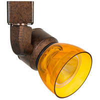 Rust Polycarbonate Track Lighting