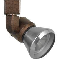 Cal Lighting HT-888RU-CONEBS Signature 1 Light Rust Track Head Ceiling Light