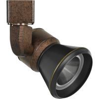 Cal Lighting HT-888RU-CONEDB Signature 1 Light Rust Track Head Ceiling Light