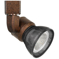 Cal Lighting HT-888RU-MESHDB Signature 1 Light Rust Track Head Ceiling Light