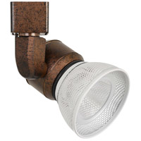Cal Lighting HT-888RU-MESHWH Signature 1 Light Rust Track Head Ceiling Light