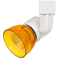 Cal Lighting HT-888WH-AMBCLR Signature 1 Light White Track Head Ceiling Light