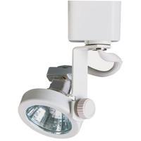 Cal Lighting HT-909-WH Signature 1 Light 120V White Track Fixture Ceiling Light