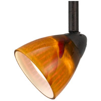 Serpentine 1 Light 120V Rust Track Head Ceiling Light