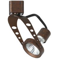 Cal Lighting HT-969-RU Signature 1 Light 120V Rust Track Fixture Ceiling Light