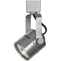 Cal Lighting HT-975-BS Ht Series 1 Light 120V Brushed Steel Track Head Ceiling Light Round