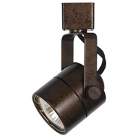 Cal Lighting HT-975-RU Ht Series 1 Light 120V Rust Track Head Ceiling Light Round