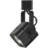 Cal Lighting HT-976-BK HT Series 1 Light 120V Black Track Head Ceiling Light, Square