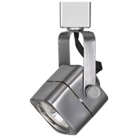 Cal Lighting HT-976-BS Ht Series 1 Light 120V Brushed Steel Track Head Ceiling Light Square