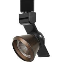 Cal Lighting HT-999BK-CONERU Signature 1 Light Black Track Head Ceiling Light