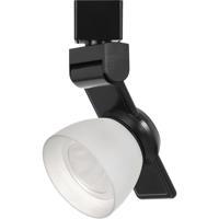 Cal Lighting HT-999BK-WHTFRO Signature 1 Light Black Track Head Ceiling Light
