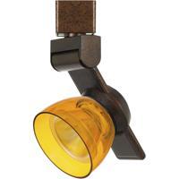 Cal Lighting HT-999RU-AMBCLR Signature 1 Light Rust Track Head Ceiling Light
