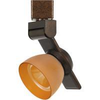 Cal Lighting HT-999RU-AMBFRO Signature 1 Light Rust Track Head Ceiling Light