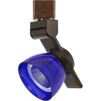 Cal Lighting HT-999RU-BLUCLR Signature 1 Light Rust Track Head Ceiling Light