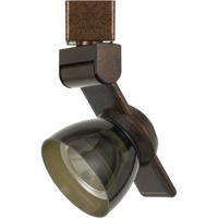Cal Lighting HT-999RU-SMOCLR Signature 1 Light Rust Track Head Ceiling Light