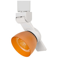 Cal Lighting HT-999WH-AMBFRO Signature 1 Light White Track Head Ceiling Light