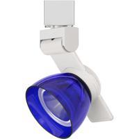 Cal Lighting HT-999WH-BLUCLR Signature 1 Light White Track Head Ceiling Light
