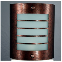 Signature 1 Light 9 inch Rust Wall Lamp Wall Light