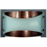 Signature 2 Light 13 inch Rust Wall Lamp Wall Light