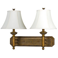 Antique Gold Resin Wall Sconces