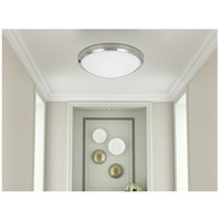 Cal Lighting LA-710 Signature 1 Light 15 inch Painted Steel Semi Flush Mount Ceiling Light