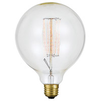 Cal Lighting LB-3652 Edison Incandescent T8 E26 60 watt 120V 2200K Bulb