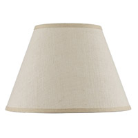 Cal Lighting SH-8111-16S Burlap Light Tan 16 inch Shade