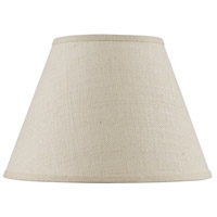 Cal Lighting SH-8111-18S Burlap Light Tan 18 inch Shade