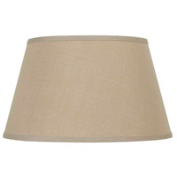 Cal Lighting SH-8114-17F Signature Khaki 17 inch Shade Round