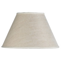 Empire Beige 17 inch Shade, Round