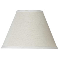Empire Off White 11 inch Shade, Round