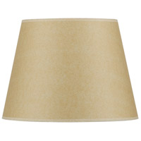 Cal Lighting SH-1367 Coolie Beige 13 inch Shade Round