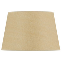 Cal Lighting SH-1369 Coolie Beige 17 inch Shade Round