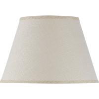 Cal Lighting SH-1425 Signature Burlap 15 inch Shade Drum